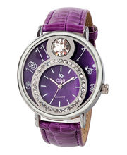 Chappin And Nellson Ladies Watch CN - 10– L, Purple, Purple