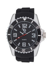 Chappin And Nellson Black Strap Black Dial Womens ...