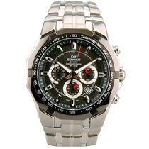Casio Mens Watch - EF540D-1AVDF, silver, black