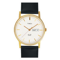 Timex ¬ â €   Classic Analog Champagne Dial Men's Watch-A500, black, white