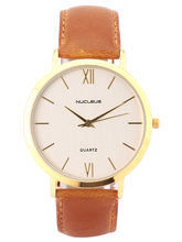 Nucleus Watch For Men - LGSB, Brown, Silver
