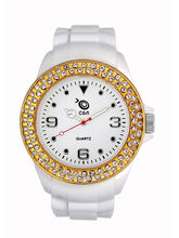 Chappin And Nellson White Strap White Dial Womens ...