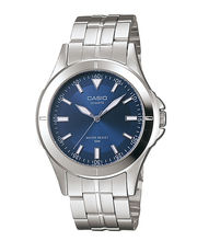 Casio Gents Watch MTP-1214A-2AVDF, Blue, Silver