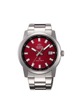 Orient ER23003H Men Luxury Watch, red, white