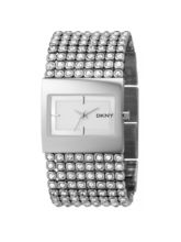 DKNY Ny4661 Series Analog Watch For Women, silver, silver