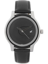 Fastrack Upgrades Analog Watch For Men, Black, Dar...