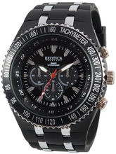 Exotica Fashions Gents Watch (EF-01-BLACK-PL)