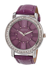 Exotica Ladies Watch EF– 70, purple, purple