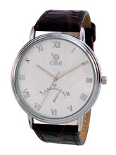 Chappin & Nellson CN-01-G-White Gents Watch, White, Black