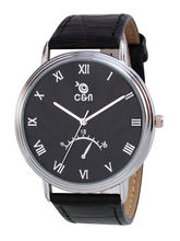 Chappin & Nellson CN-01-G-Black Gents Watch, Black, Black
