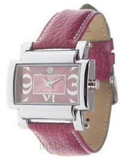 Women Pink Strap Stylish Watch (MIL86507-Berry)