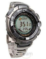 Casio Stainless Steel Digital Watch (PRG-130T-7VDR)
