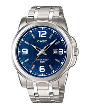 Casio Gents Watch MTP-1314D-2AVDF, Blue, Silver