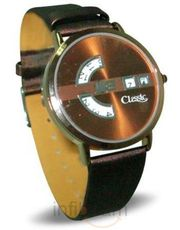 Archies Copper Round Strap Watch(HW-08-76133)