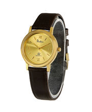 Rochees Gents Watches DLI3WCG122, Golden, Brown