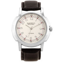 Laurels Original Gents Watch Lo-Vet-103, silver, silver