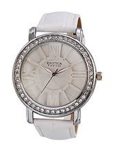 Exotica Ladies Watch EF– 70, white, white