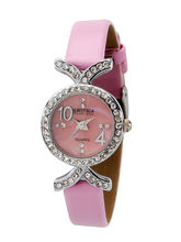 Exotica Ladies Watch EFL– 50, pink, pink
