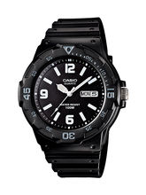 Casio Gents Watch MRW-200H-1B2VDF, black, black