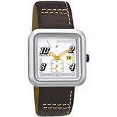Gents Square Dial Fashion Watch (1387SL01)