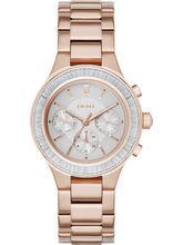 DKNY Chambers Analog Silver Dial Women's Watch-NY239