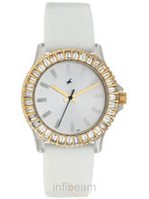 Fastrack Womens White Watch (9827PP01)