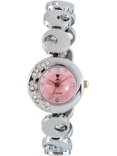 Dvine Pink Dial Analog Watch