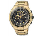 Citizen Gents Watch AN4012-51E, black, gold