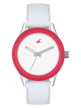 Fastrack Ladies Watch 6078SL01, white, white