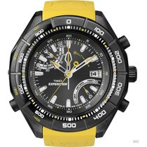 Timex T49796 Gents watch, yellow, black