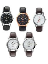 Rico Sordi Set of 5 Leather Watch