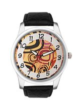 Excelencia Multi Dial & Black Strap Analog Men's W...