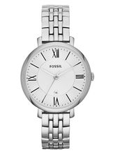 Fossil Es3433 Jacqueline Analog Watch For Women, silver, silver
