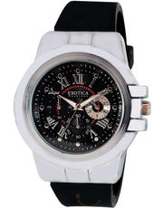 Exotica Round Fashion Black Watch (EFG-07_ B)