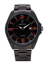 Fashion Track By Optima Ft-2169-Blk-Blk Men's Watch, Black, Black