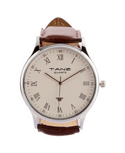 Tanz Gents Watch FW-01, cream, brown