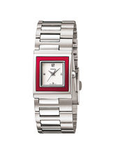 Casio LTP-1317D-4C Ladies A666 Watch, silver, white