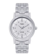 Timex Grey Dial And Silver Strap Analog Watch For Men - Ti000T10400