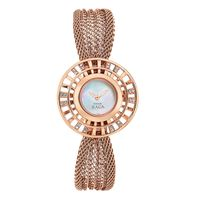 Titan Ladies Watch 9931WM01, rose gold, mother of pearl