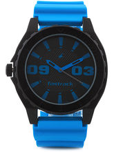 Fastrack Sports Analog Watch For Men, Blue, Black