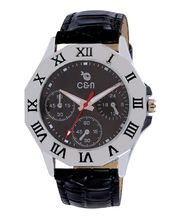 Chappin & Nellson CN-02-G-Black Gents Watch, Black, Black