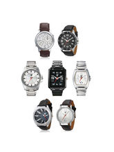 Rico Sordi Mens Set of 7 Watches with Japanese Movement