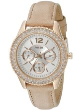 Fossil Stella Analog Silver Dial Women's Watch-ES3816