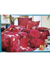 Blue Bell Double Bedsheet With Two Pillow Covers BEL-020, Multicolor